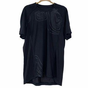 Lululemon Men's Abstract Work Out Shirt size XL